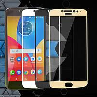 Защитное стекло для Motorola Moto E Plus (XT1771) (на весь экран)
