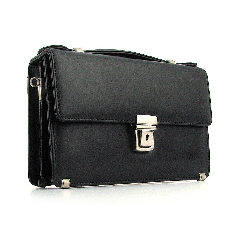 db6c5baa5faf Барсетка классическая кожаная Desisan черная: продажа, цена в Днепре ...