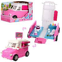 Машина раскладная 34 см для куклы кафе на колесах, аксессуары,K899-51