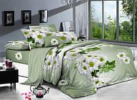 Двуспальный комплект постельного белья 180*220 сатин (9000) TM KRISPOL Украина