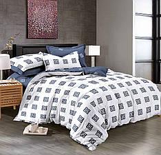 Двуспальный комплект постельного белья 180*220 сатин (9012) TM KRISPOL Украина