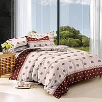 Двуспальный комплект постельного белья евро 200 220 сатин (9036) TM KRISPOL  Украина 8049bdff70c3e