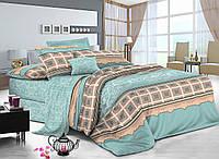 Семейный комплект постельного белья сатин (9040) TM KRISPOL Украина