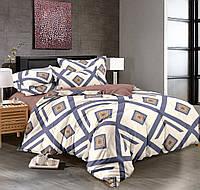 Семейный комплект постельного белья сатин (9044) TM KRISPOL Украина