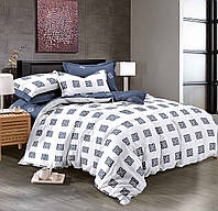 Семейный комплект постельного белья сатин (9054) TM KRISPOL Украина