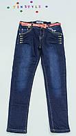Утепленные  брюки на флисе на девочку рост 146 см 146 см