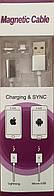 Магнитный кабель для айфонов ( Apple Lightning) на блистере - 1,2м, фото 1