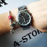 Эксклюзив. Часы женские копия Michael Kors с черным циферблатом. В наличии