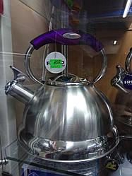 Чайник метал свисток 3л ФРУ-759