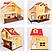 Будиночок з флоксовыми тваринами Happy Family 012-03 Заміський Будиночок (аналог Sylvanian Families), фото 4