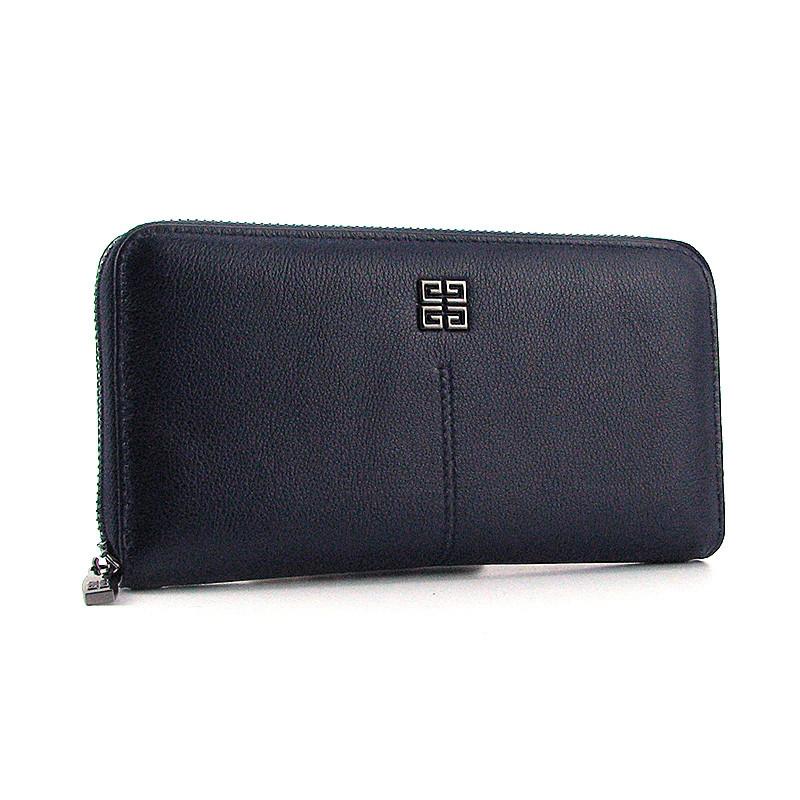 c171e6509d00 Кожаный кошелек Givenchy женский синий на молнии: продажа, цена в ...