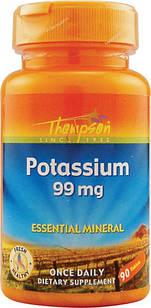 Калий Thompson 99 мг ( аминокислотное соединение) 90 табл