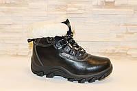 Ботинки зимние черные натуральная кожа С2 р 36