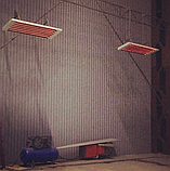 Білюкс У9000 - інфрачервоний обігрівач стельовий середньохвильової для теплиць , ферм і холодних будівель, фото 2