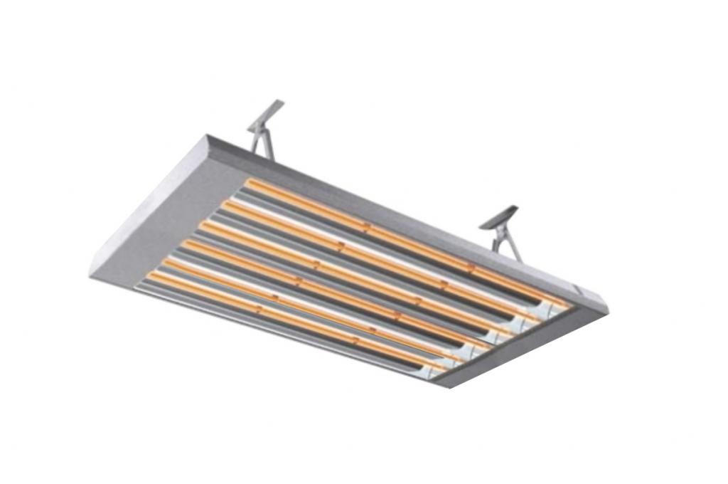 Билюкс У9000 - инфракрасный обогреватель потолочный средневолновой для теплиц , ферм и холодных зданий