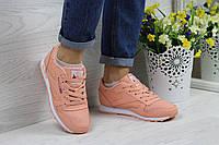 Кроссовки женские Reebok Classic (персиковые) , ТОП-реплика , фото 1