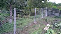 Забор из сетки Рабица в Харькове самые низкие цены!
