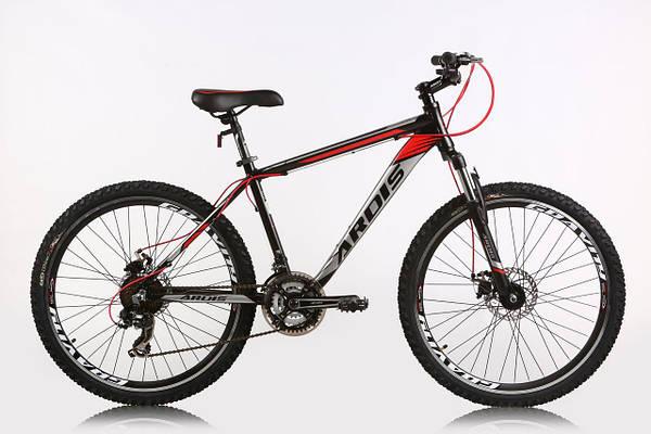 """Горный велосипед ARDIS PIONEER MTB 26"""" 17""""  Черный/Красный"""