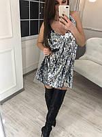 Стильное женское платье-майка в пайтеку