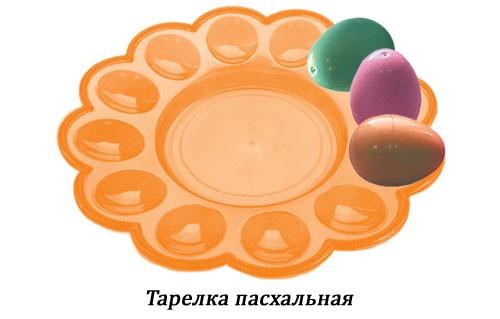 Тарелка пасхальная оптом