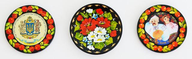 магниты на холодильник Петриковская роспись