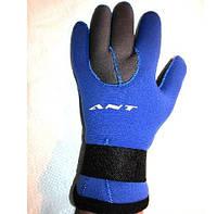 Перчатки неопреновые для дайвинга и подводной охоты w-903 5 mm