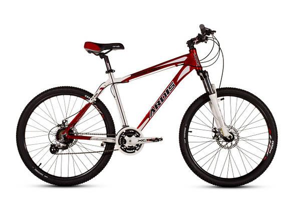 """Горный велосипед ARDIS PROGRESSIVE MTB 26"""" 17""""  Красный/Белый"""