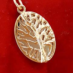 Золотой кулон Древо жизни - Подвеска Дерево Жизни золото 585 - Золотая подвеска Дерево Жизни