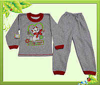 Пижамка детская с начесом для девочек.