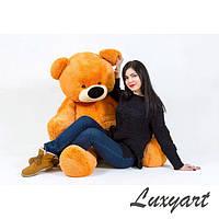 Большой плюшевый медведь, 200 см, медовый