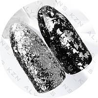 Втирка «Хлопья Юки » серебро