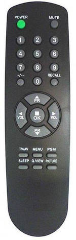 Пульт ДУ для ТВ GoldStar 105-230A, 105-210A  (улучшенного качества), фото 2