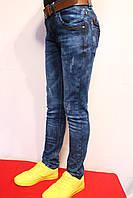 Подростковые весенние джинсы для мальчиков. Возростная, группа от 8 до 16 лет (134-170см.). Niebieski. Польша.