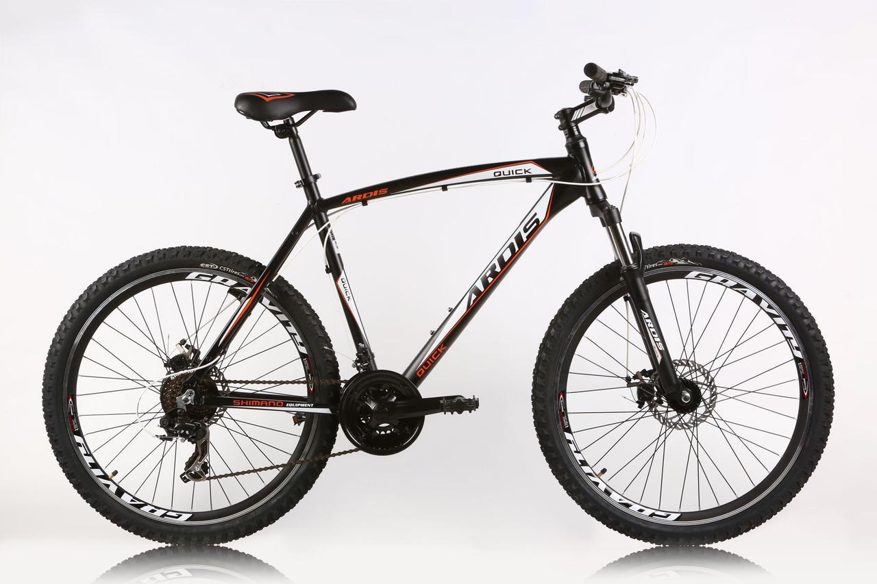 """Горный велосипед ARDIS QUICK MTB 26"""" 19""""  Черный"""