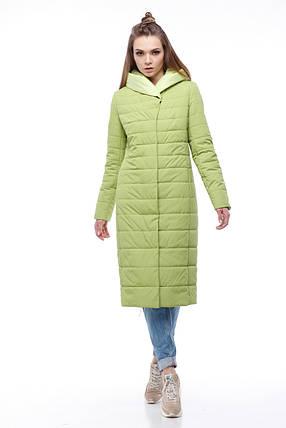 ad3ac93136c Пальто длинное стеганое 2018 новинка демисезонное больших размеров 48-60