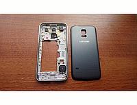 Корпус для Samsung Galaxy G800 S5 mini Black (чёрный)