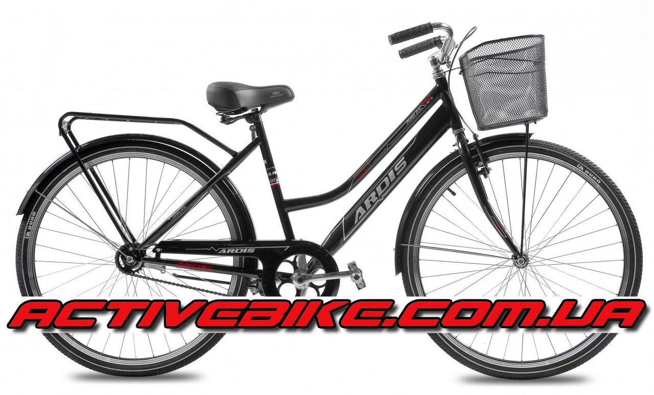 """Городской велосипед Ardis Лыбидь люкс с корзиной 28"""""""