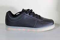 Подростковые кроссовки подошва светится, фото 1