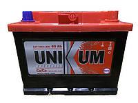 Автомобильный аккумулятор Unikum 60Ач 500А (0) R