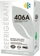 Фреон (хладон)  R-406а (в баллоне 13,6 кг)