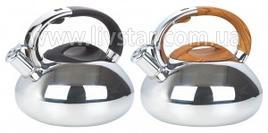 Чайник метал свистящий, с 3-м дном 3.0л FRICO FRU-1323