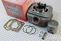 Цилиндр 52,5 мм в сборе поршень h=60 мм палец d=12 мм Suzuki AD100 сс Тайвань