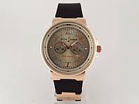 Женские часы - Ulysse Nardin - Maxi Marine -  на черном каучуковом ремешке, цвет золото