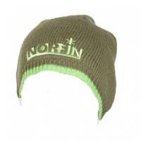 Шапка вязаная зимняя, ветроустойчивая и дышащая для охоты и рыбалки Norfin зелёная