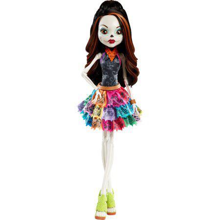 "Кукла Монстер Хай Скелита Калаверас 71см Monster High 28"" Beast Freaky Friend Skelita"