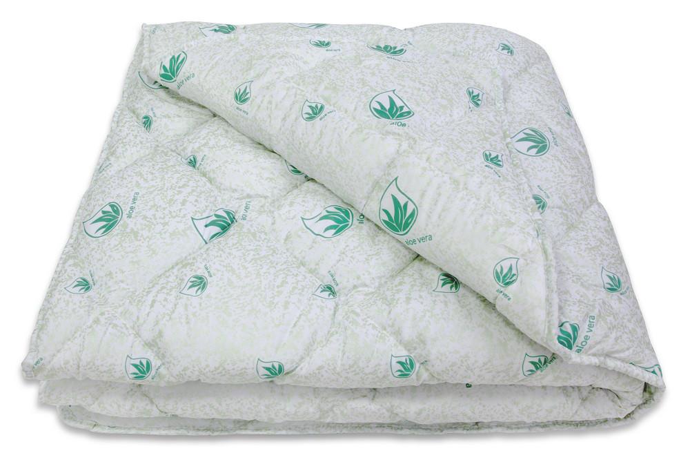 Двуспальное одеяло ТЕП «Aloe Vera» microfiber