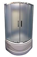 """Душевая кабина VERONIS KV-3 80x80 (матовое стекло """"иней"""")"""