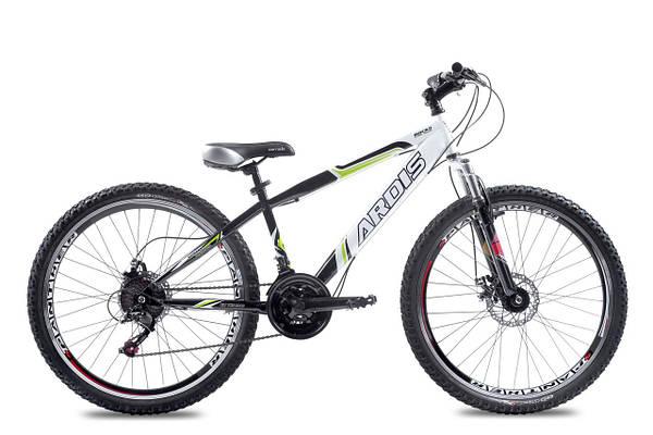 """Горный велосипед  ARDIS ROCKS MTB 26"""" 14""""  Белый/Черный"""