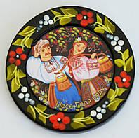"""Украинский сувенир Магнит на холодильник """"Несе Галя воду"""""""