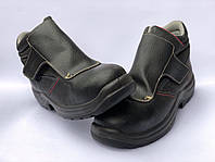 Ботинки рабочие сварщика, резчика EXENA LIPARI S3 HRO SRC